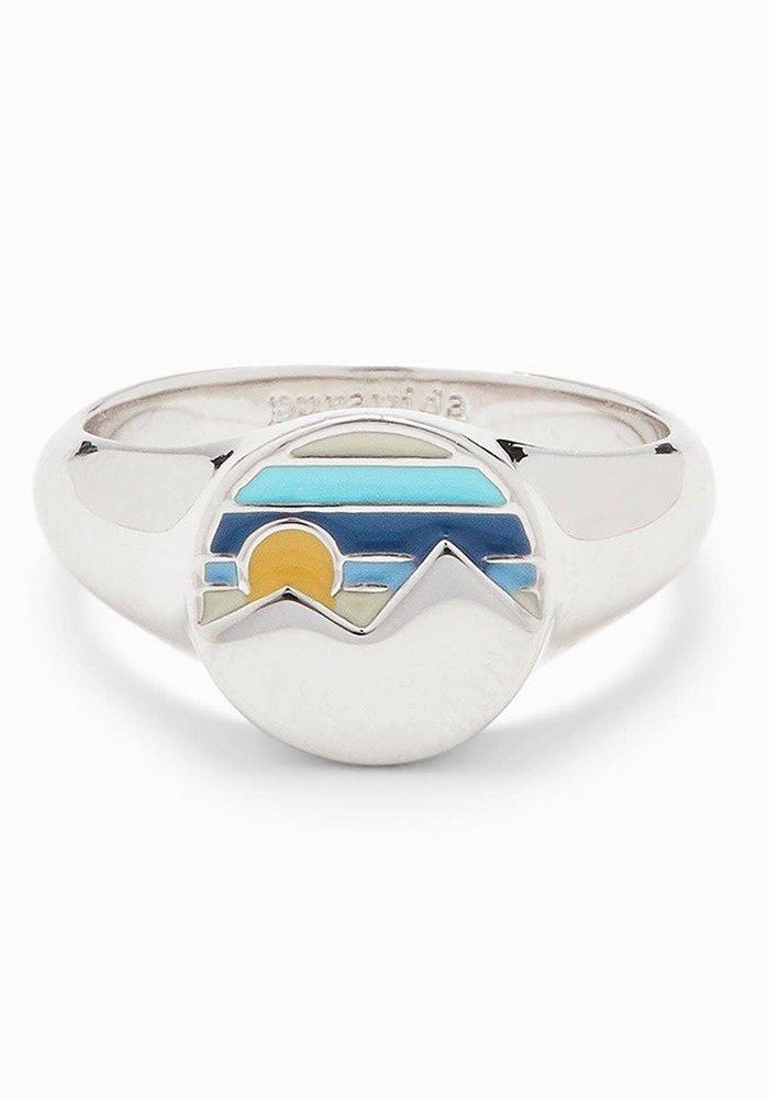 Twin Peaks Signet Ring