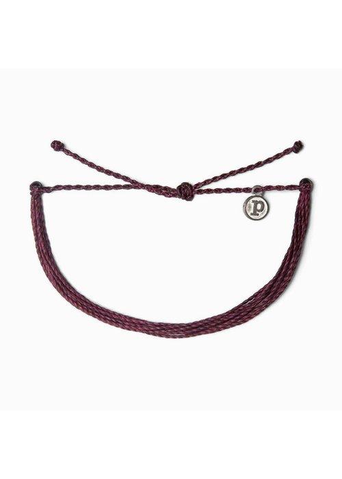 Pura Vida Original Bracelet Burgundy