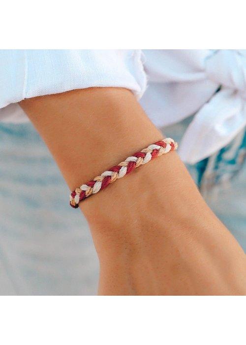 Pura Vida Fireside Feels Braided Bracelet