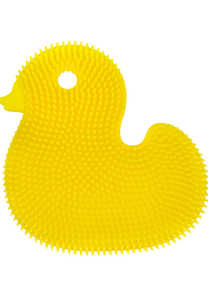 Silicone Duck Bath Scrub