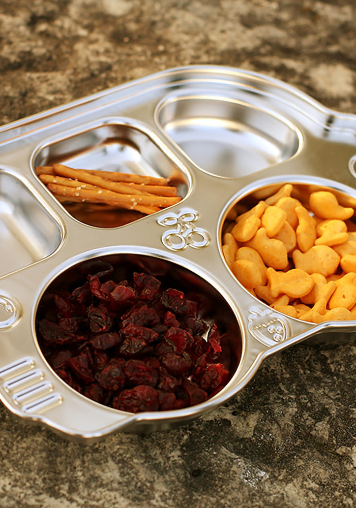 Din Din Stainless Smart Divided Platter