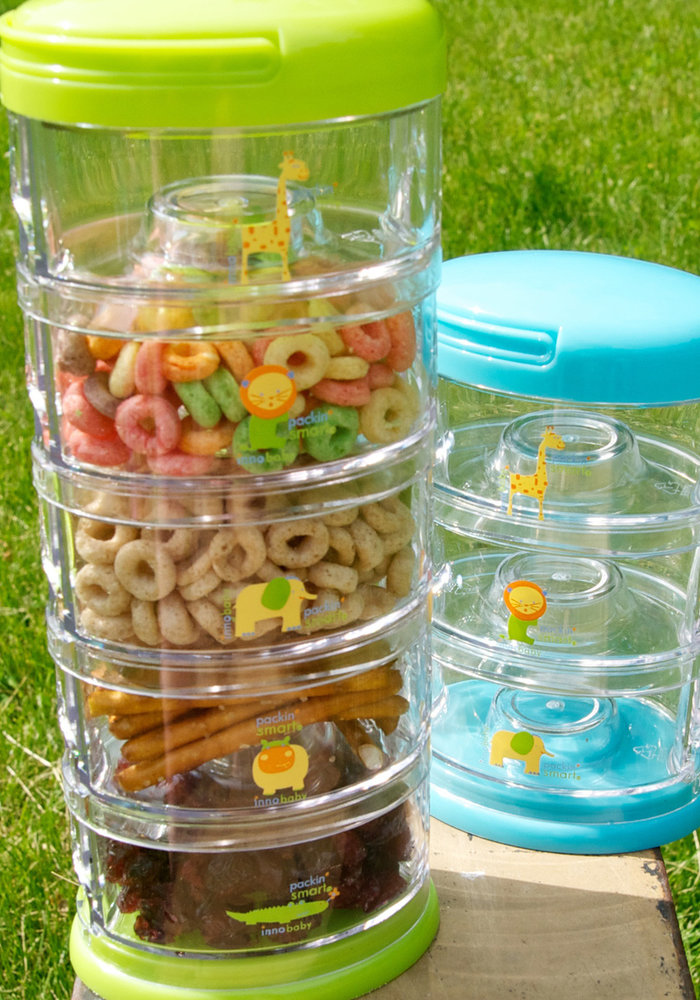 Packin' Smart 5-Tier Zoo Animal On-the-Go Storage