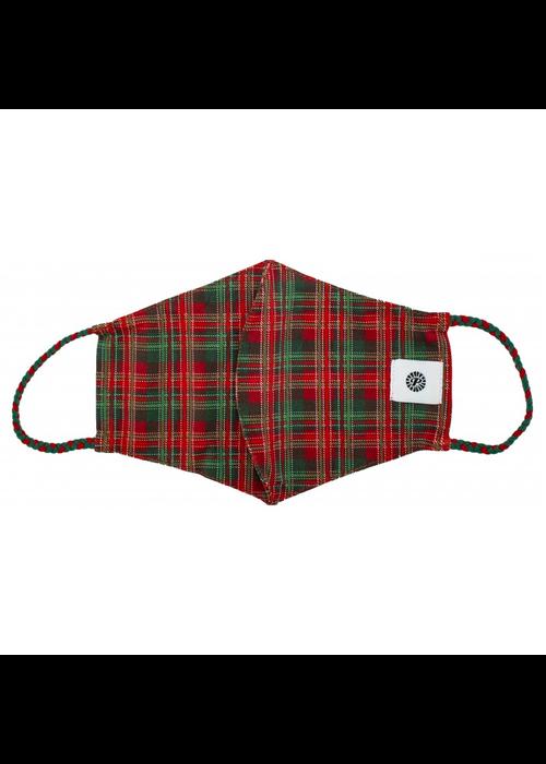Christmas Tartan Surprise Breathable Face Mask