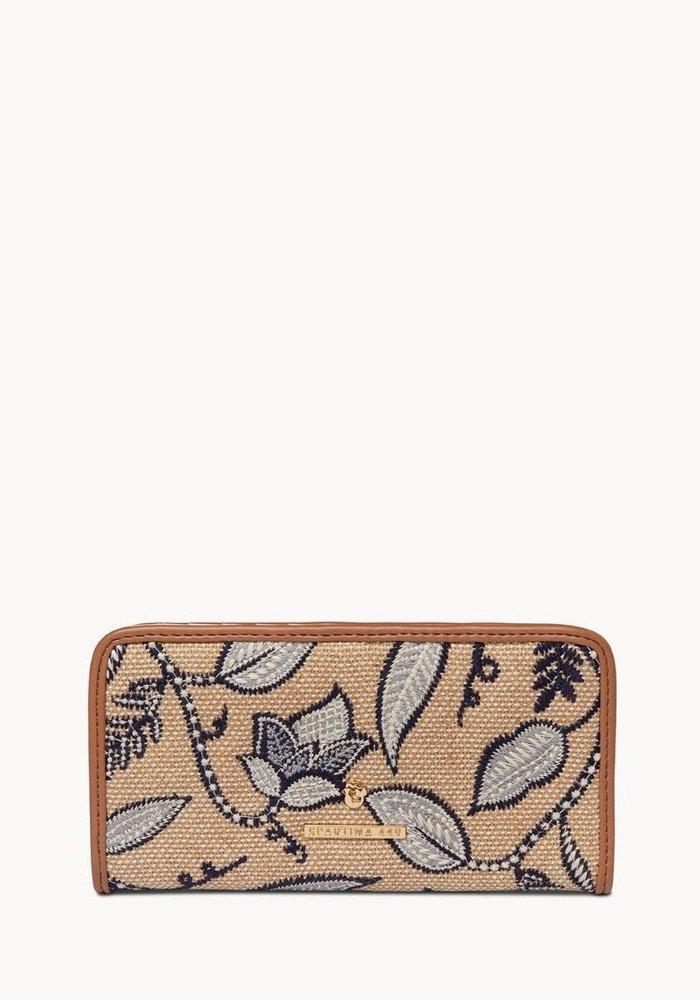 Ashley River Floral Bifold Slim Wallet