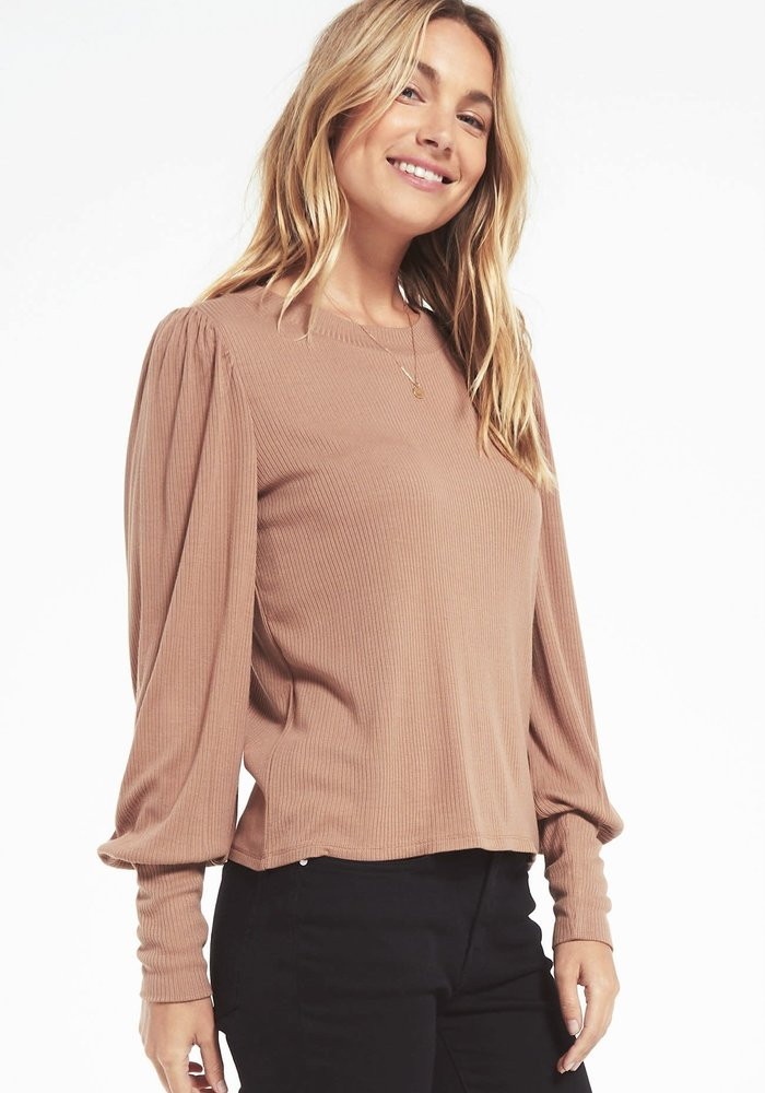 Clemente Puff Sleeve Pullover Top