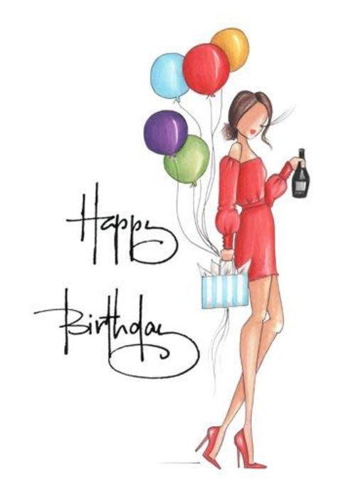 "Brittany Fuson ""Natalie"" Brittany Fuson™ Greeting Card"