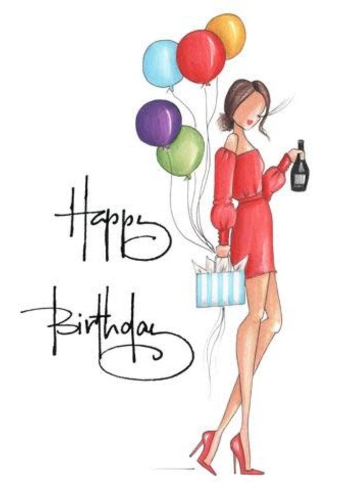 """Natalie"" Brittany Fuson™ Greeting Card"