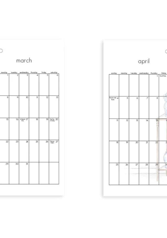 Brittany Fuson™ 2021 Wall Calendar