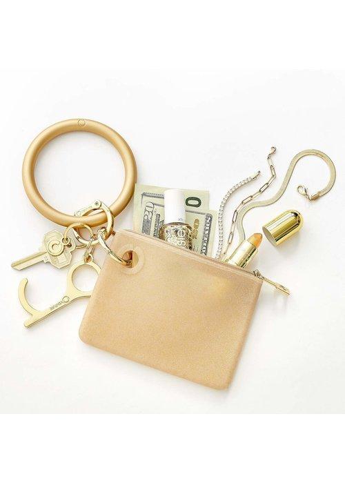 Oventure Gold Rush Confetti Mini Silicone Pouch