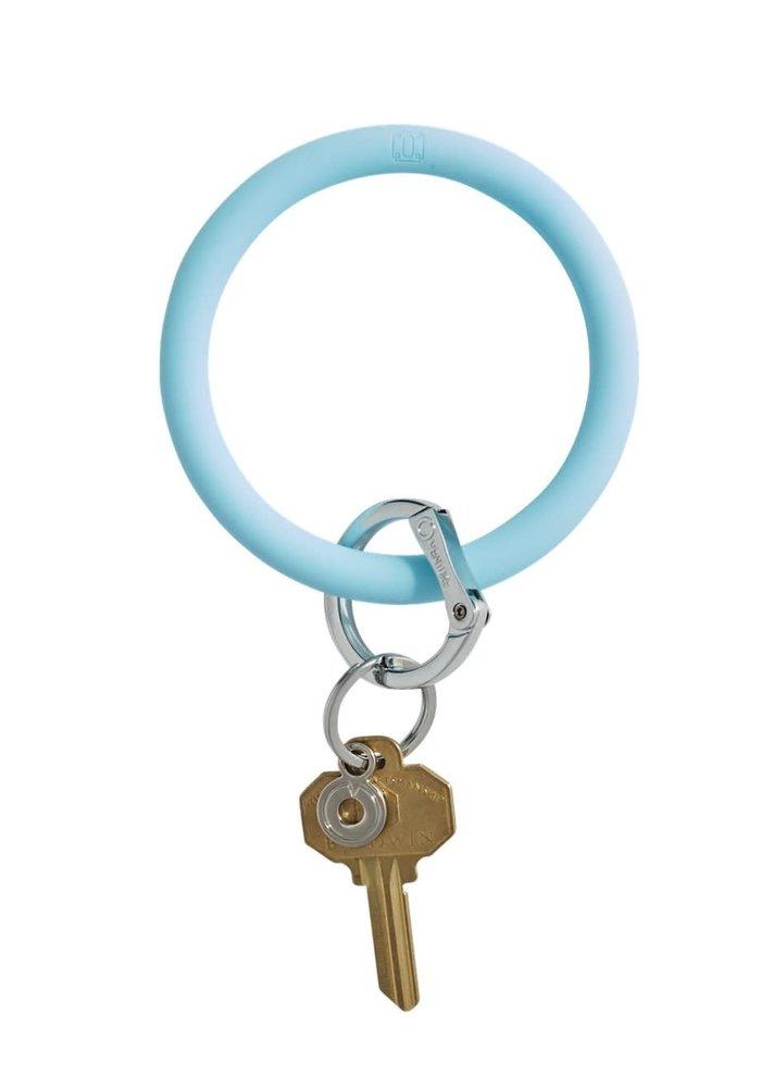 """""""Sweet Carolina Blue"""" Big Silicone O Ring"""