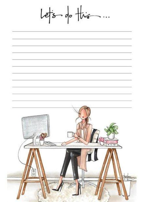 "Brittany Fuson ""Bossy"" Brittany Fuson™ Notepad"