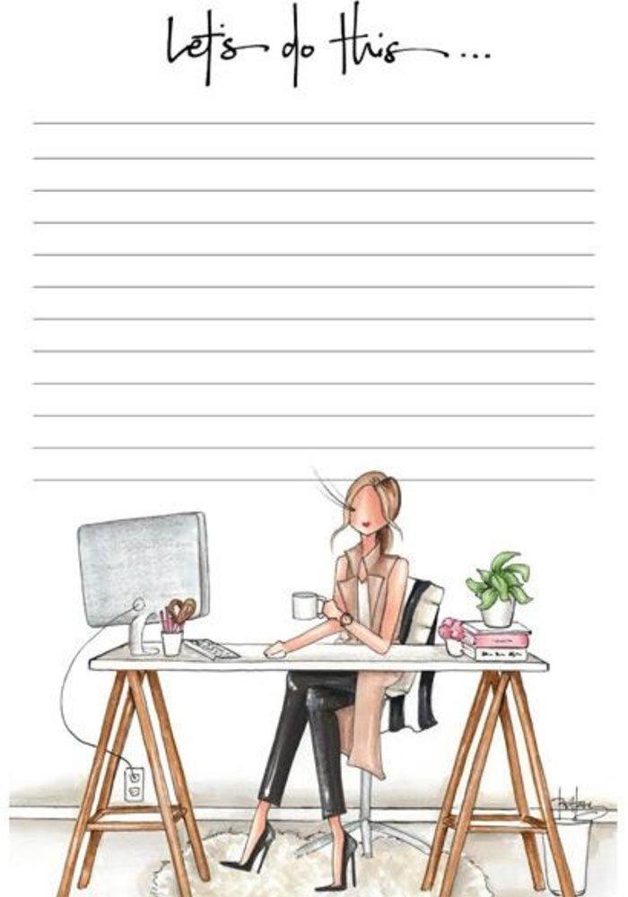 """Bossy"" Brittany Fuson™ Notepad"