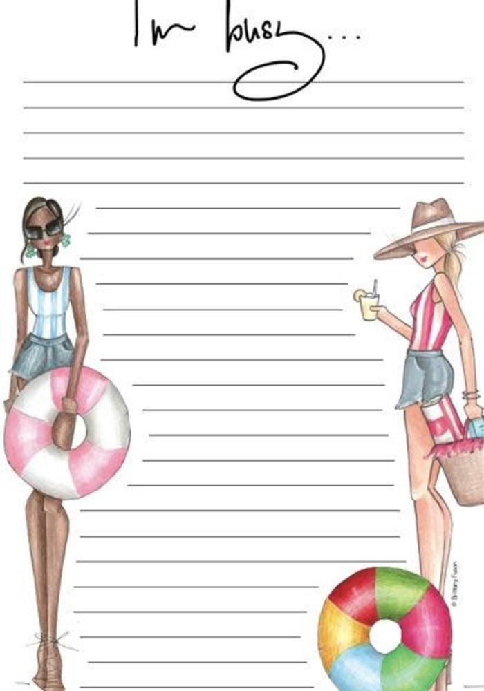 """""""Summer"""" Brittany Fuson™ Notepad"""