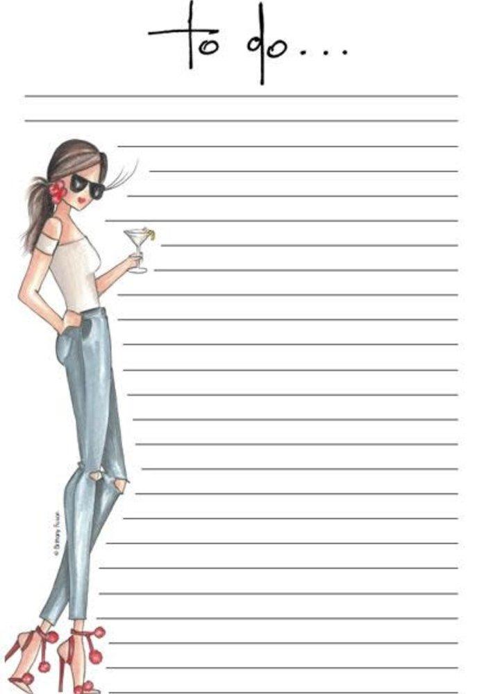 """Lemon Twist"" Brittany Fuson™ Notepad"