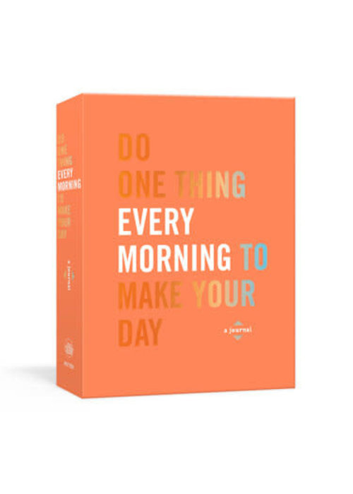 """Do One Thing Every Morning"" Book"