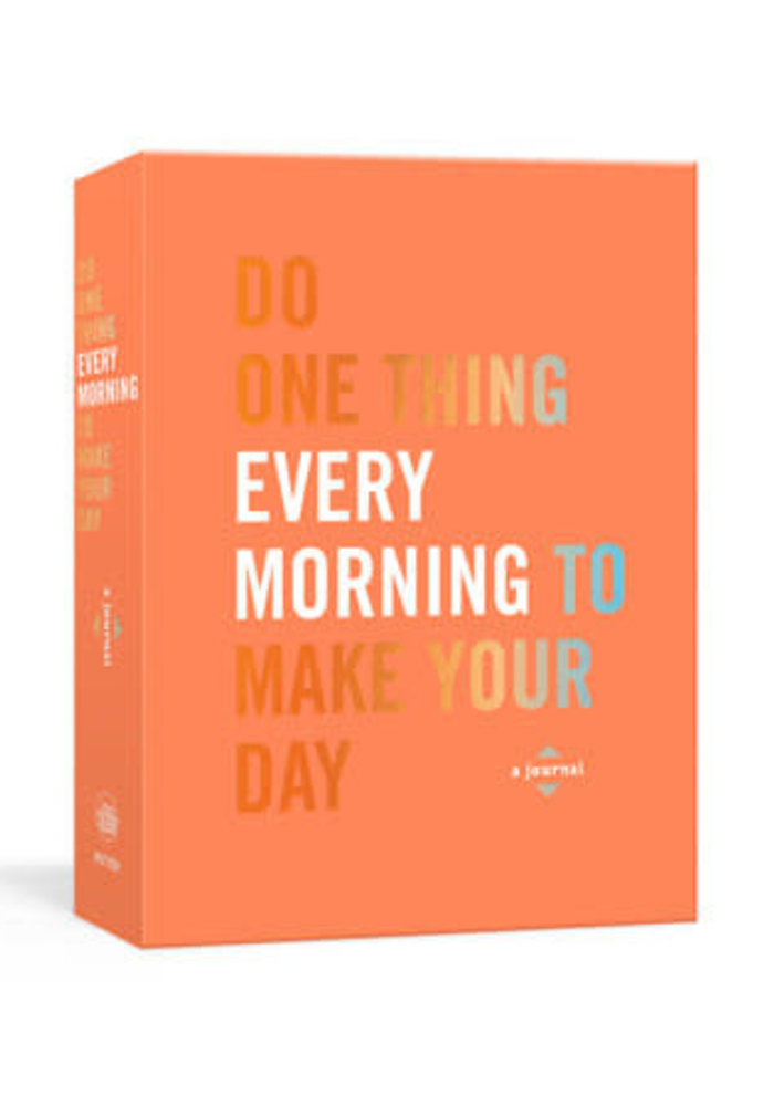 """""""Do One Thing Every Morning"""" Book"""