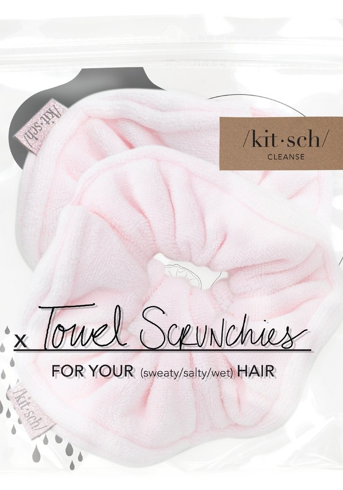 Microfiber Towel Scrunchies 2-Pack