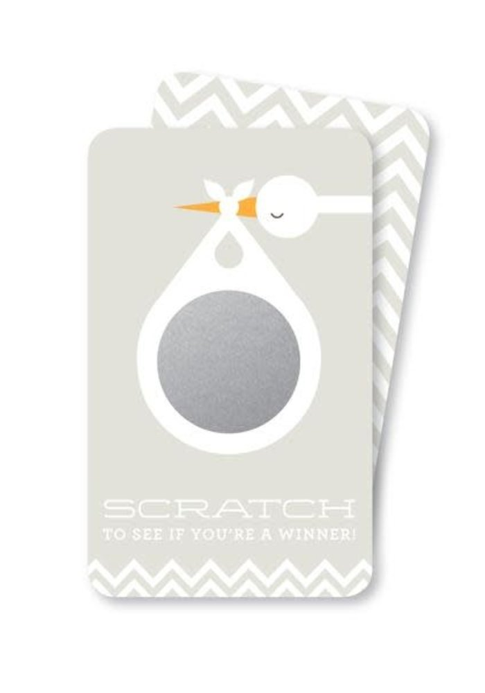 Stork Scratch-Off Game Cards 24pk. w/Game Ideas Included!