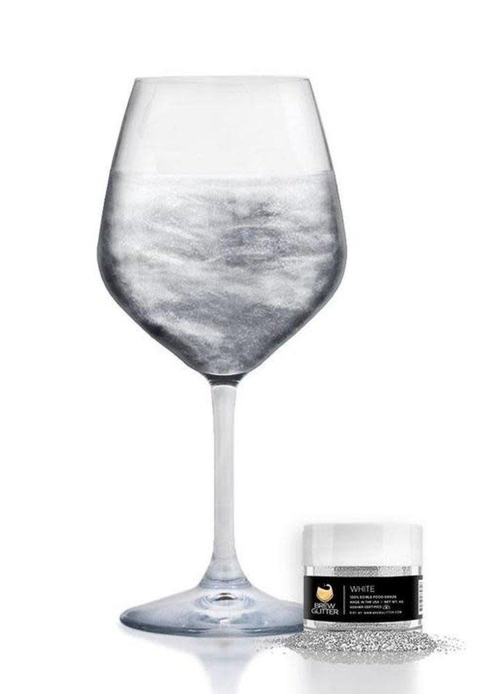 White Pearlescent Brew Glitter Wine & Champagne Glitter