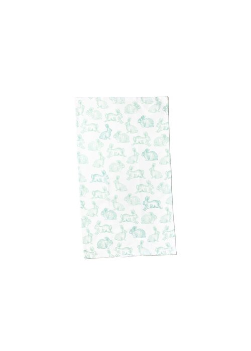 Happy Everything Speckled Rabbit Kitchen Towel