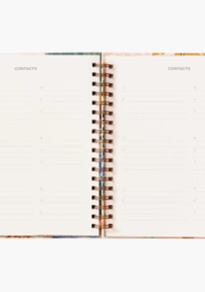"""Luisa"" 2021 Hardcover Spiral Planner"