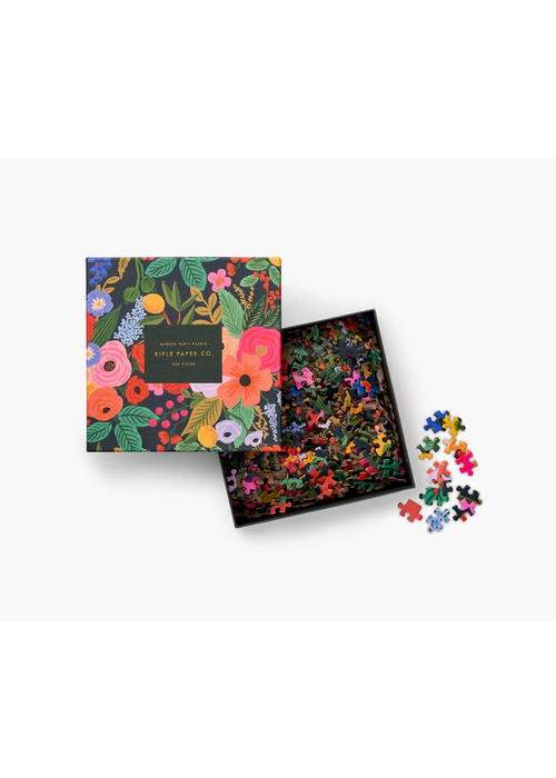 "Rifle Paper ""Garden Party"" 500pc. Puzzle"
