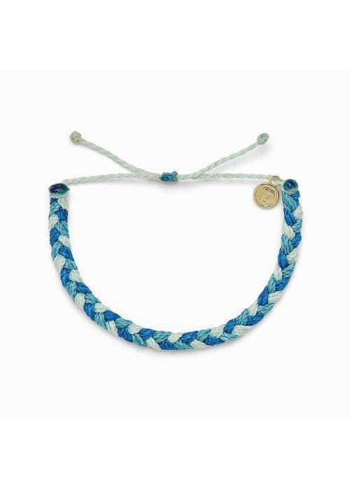 "Pura Vida ""Out of the Blue"" Braided Bracelet"