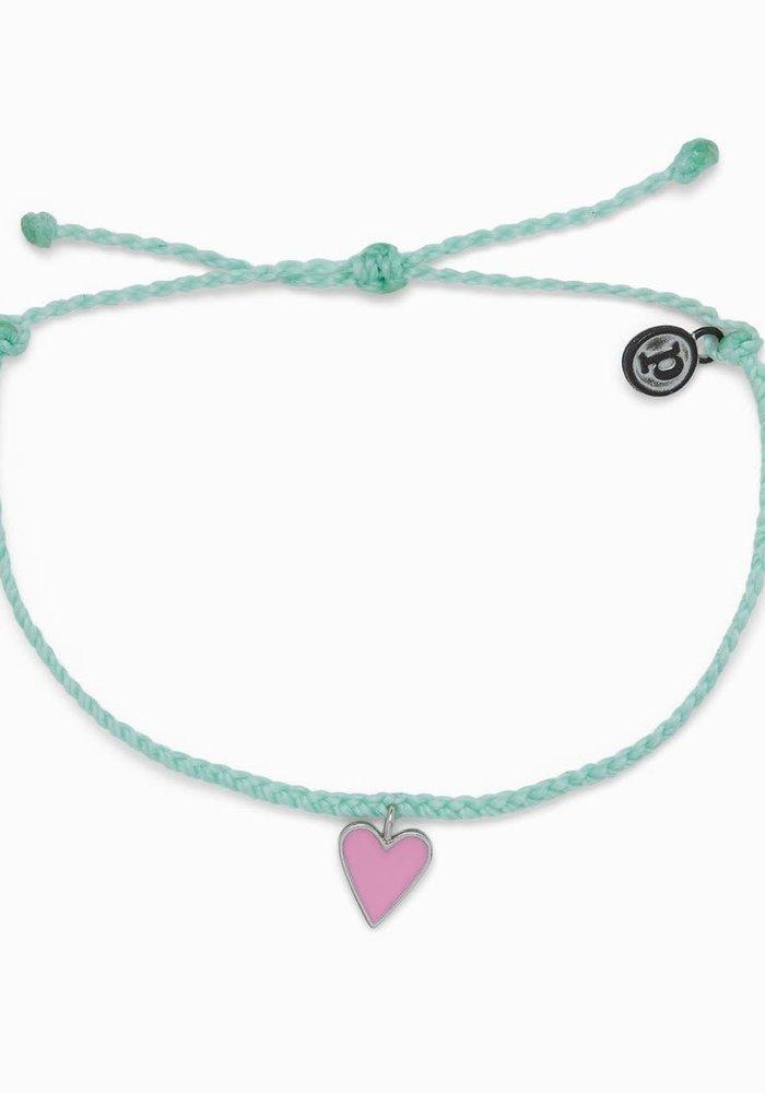 Petite Heart Charm Bracelet Winterfresh