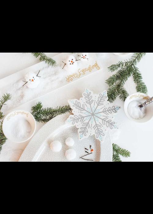 Happy Everything Snowflake Mini Attachment