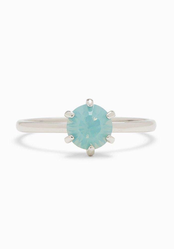 Iridescent Stone Ring