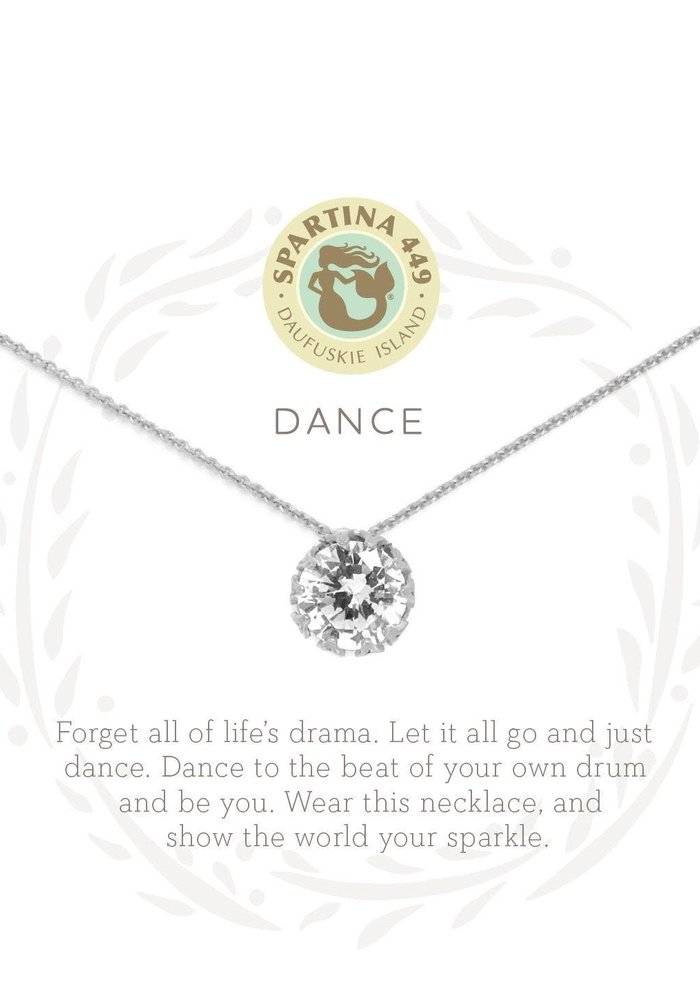 "Sea La Vie ""Dance"" Gift Message Necklace"