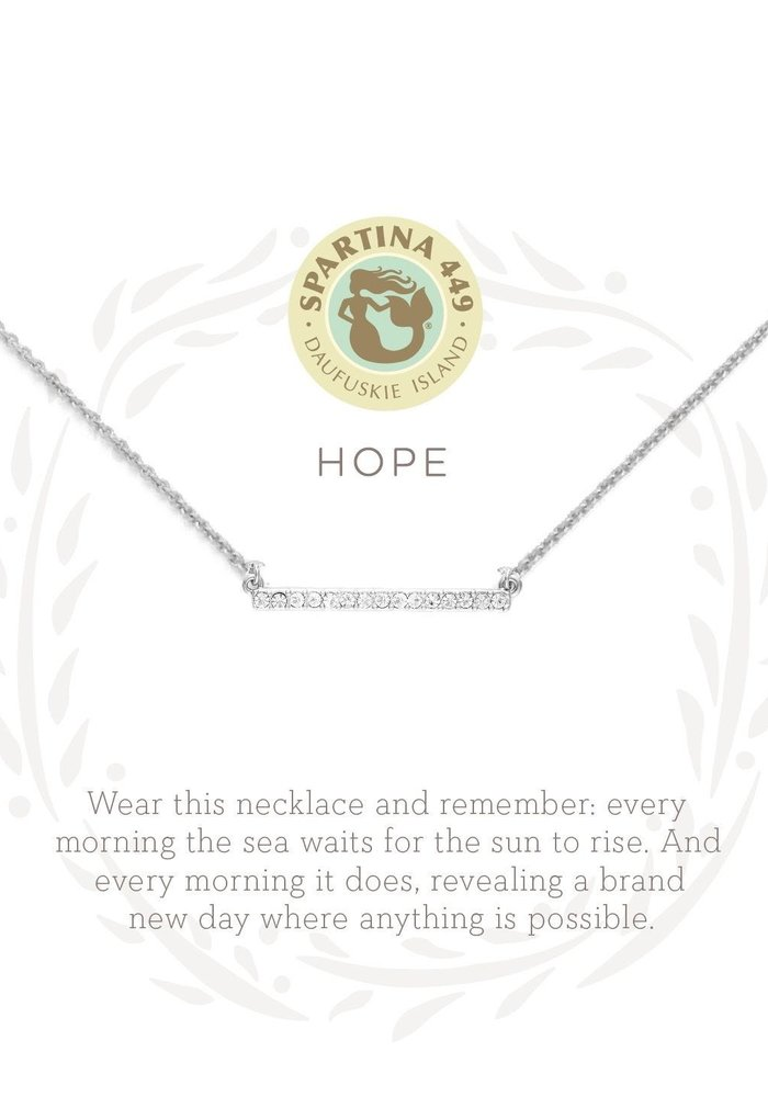 "Sea La Vie ""Hope"" Gift Message Necklace"