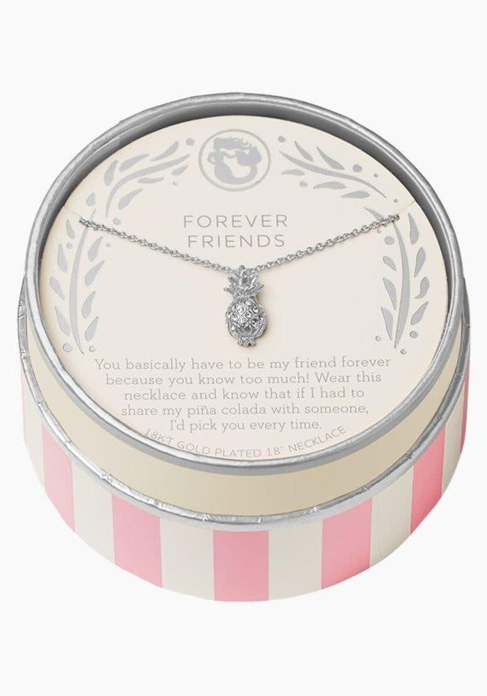 "Sea La Vie ""Forever Friends"" Gift Message Necklace"