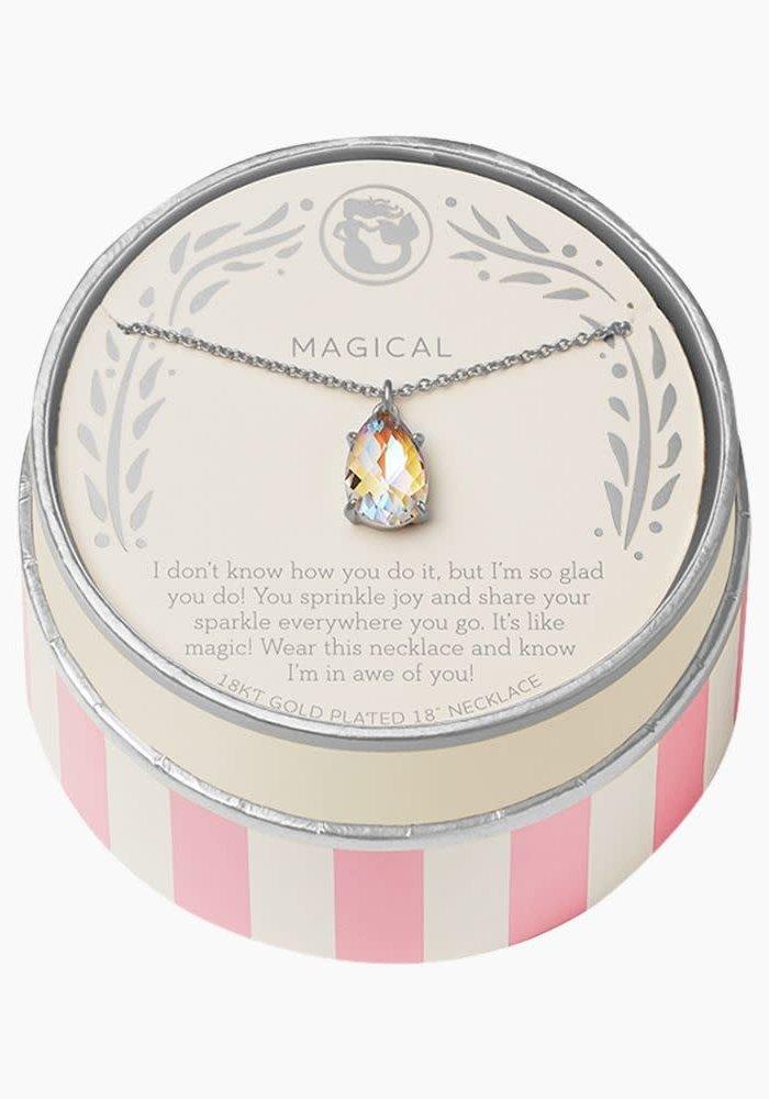 "Sea La Vie ""Magical"" Gift Message Necklace"