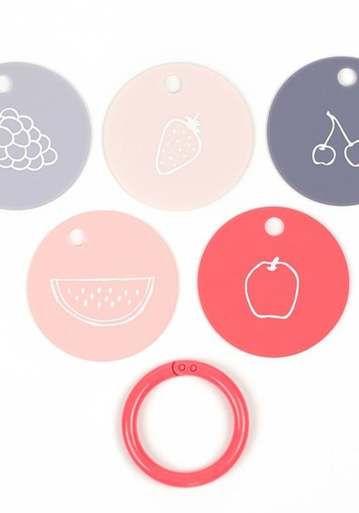 """""""Fruit for Thought"""" Teething Flashcards"""