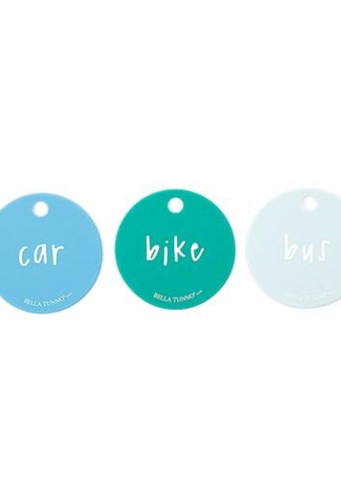 """Born to Ride"" Teething Flashcards"