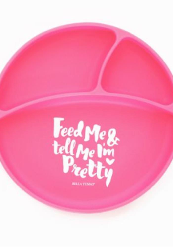 """Feed Me & Tell Me I'm Pretty"" Wonder Plate"