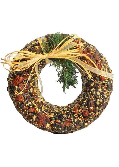 Mr. Bird Classic Pecan Birdfeed Wreath