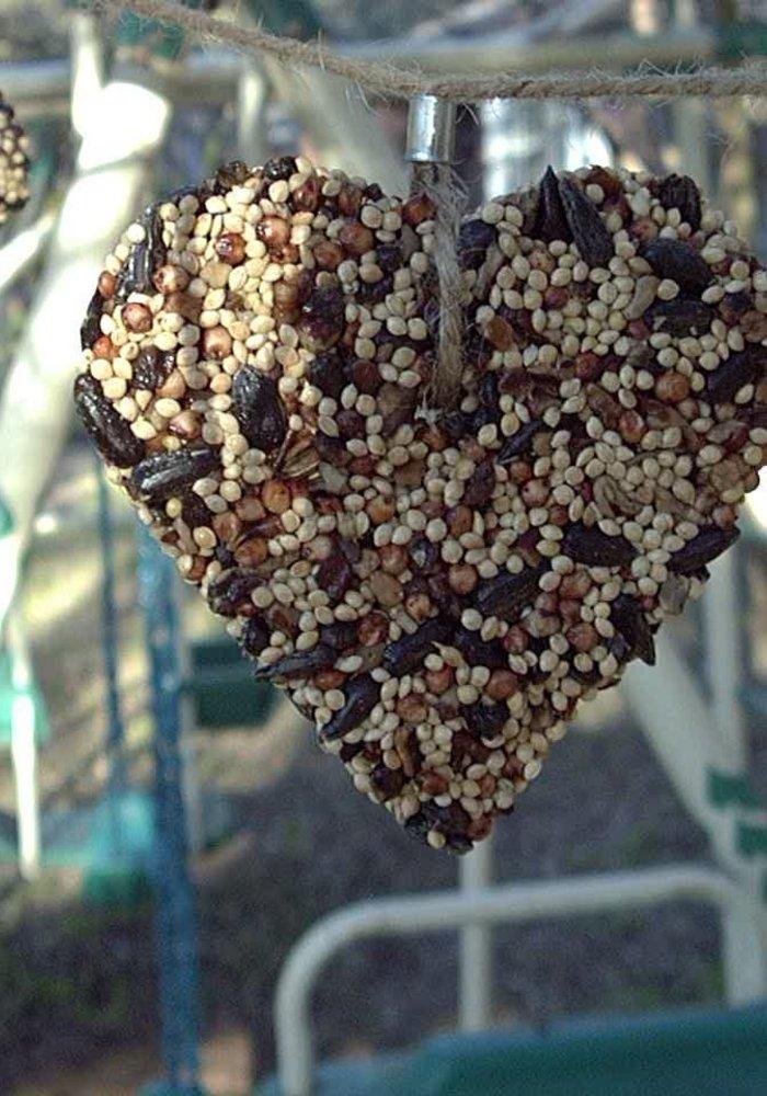 Little Heart Birdfeed Hanger