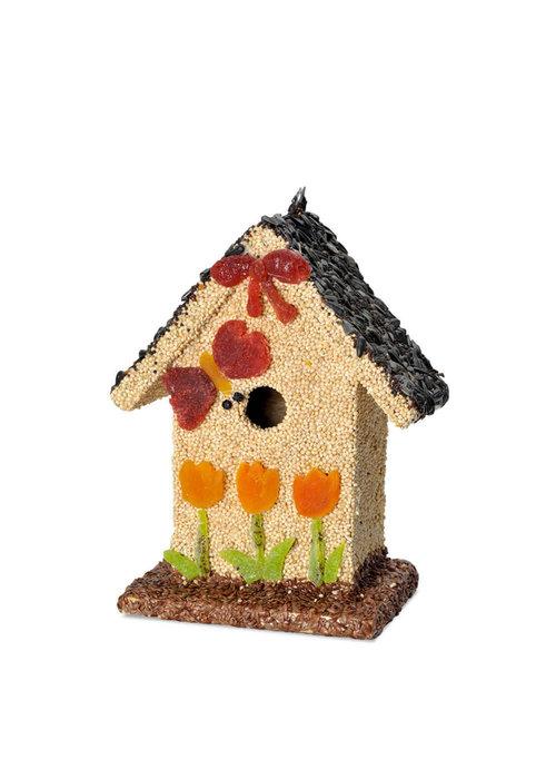 "Mr. Bird ""Spring Fruit Bed & Breakfast"" Birdfeed House"