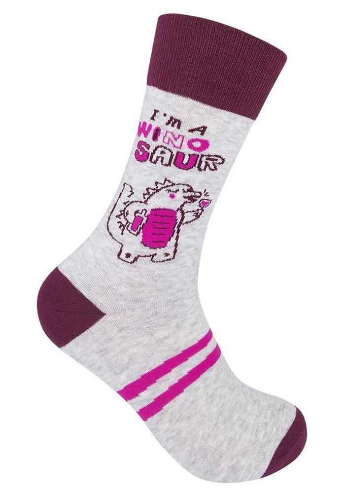 """I'm a Winosaur"" Socks"