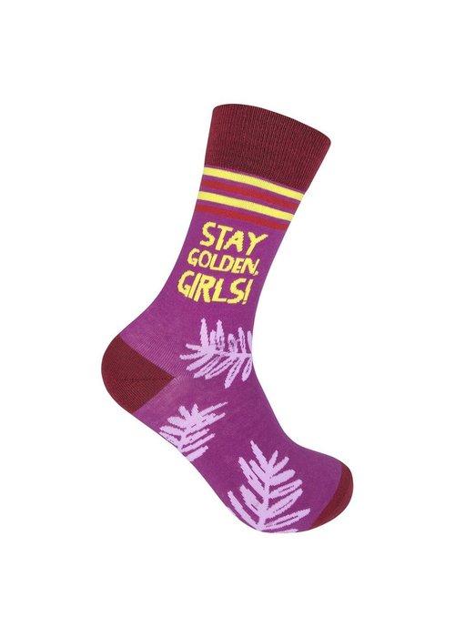 """""""Stay Golden, Girls"""" Socks"""