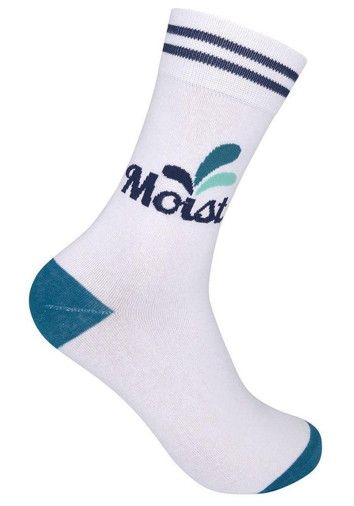 """""""Moist"""" Funny Gift Socks"""