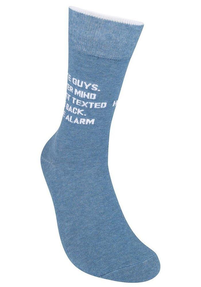 """I Hate Guys...Nevermind"" Socks"
