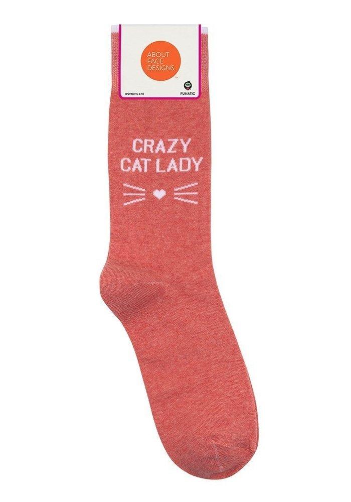 """Crazy Cat Lady"" Socks"