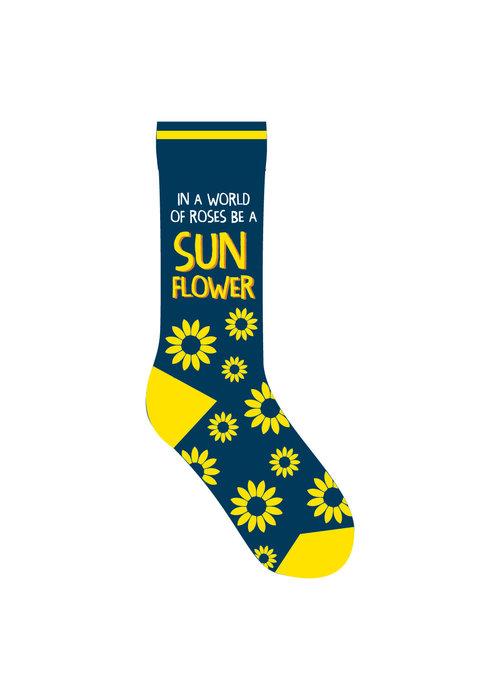 """Be a Sunflower"" Socks"