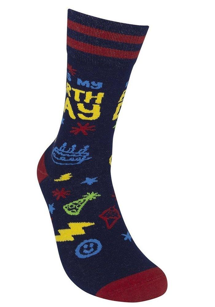 """It's My Birthday"" Socks"