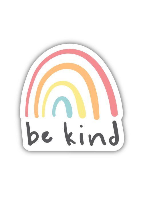 """Be Kind"" Rainbow Sticker"