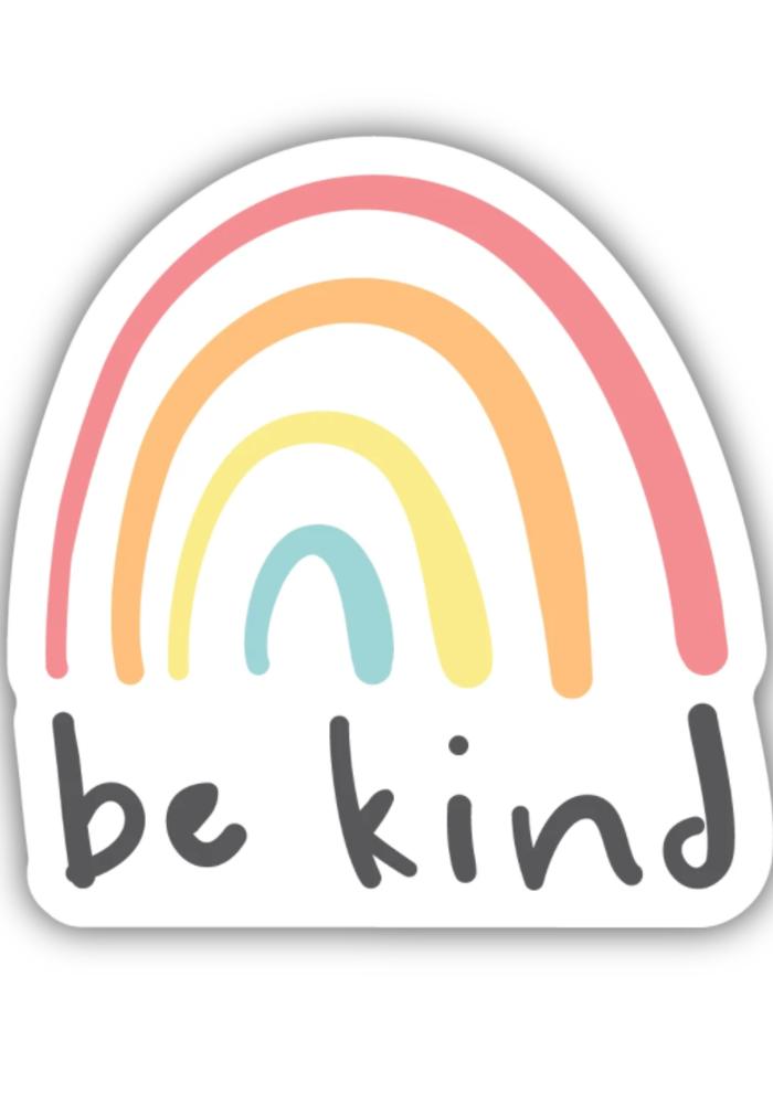 """Be Kind"" Rainbow Sticker"