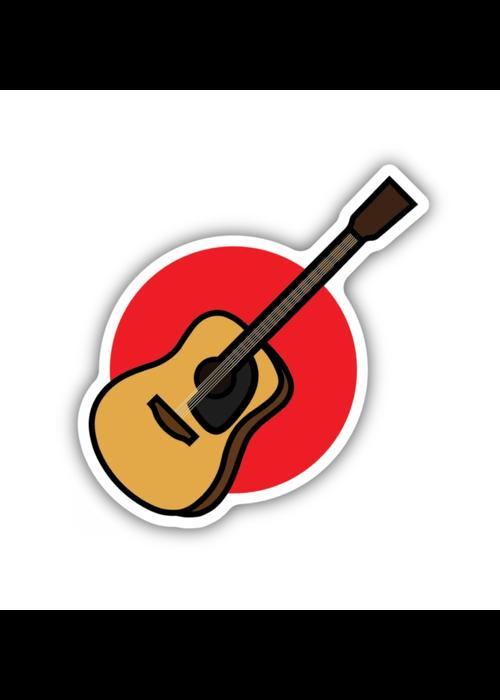 Acoustic Guitar Sticker